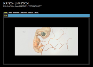 Krista Shapton Portfolio Page