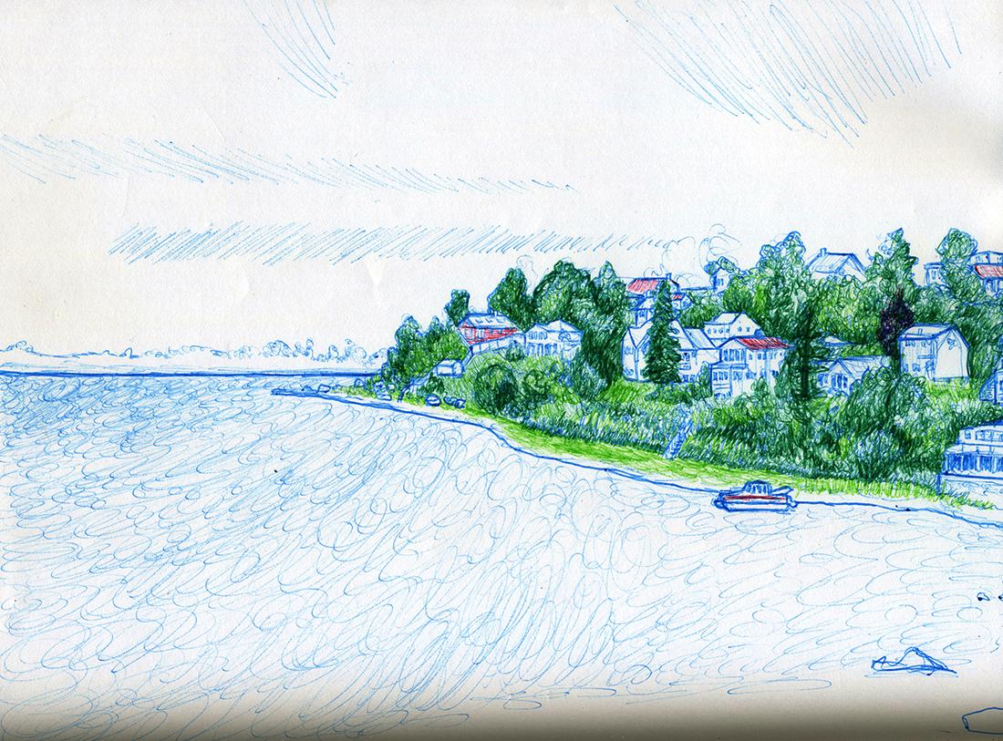 Jeffrey's Neck Sketch
